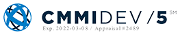 CMMIDEV/5 logo