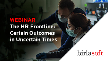 The HR Frontline: Certain Outcomes in Uncertain Times