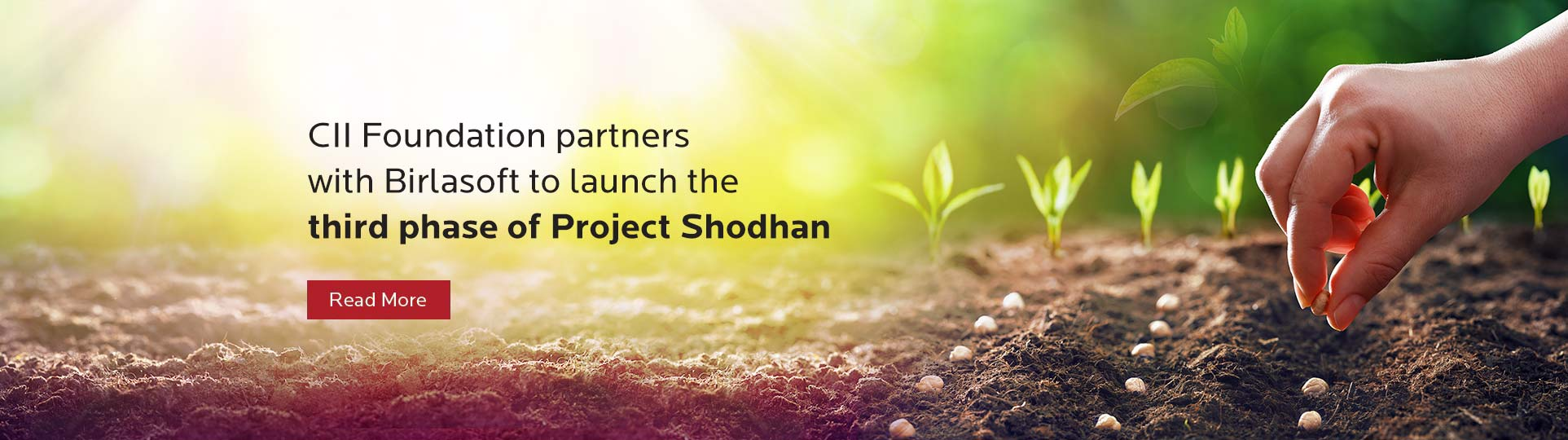 CII Foundation partners with Birlasoft to launch the third phase of Project Shodhan