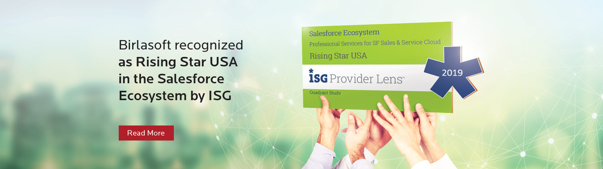 Birlasoft Recognized as Rising Star USA in the Salesforce Ecosystem by ISG