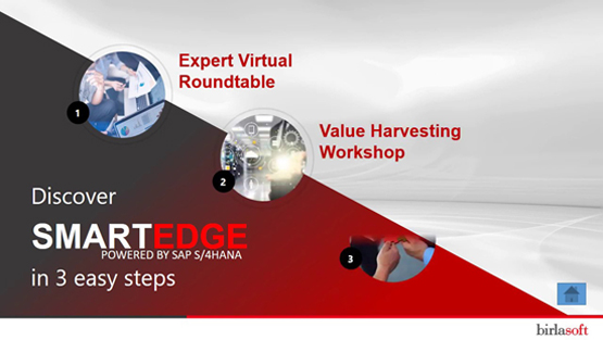 Birlasoft's SMARTEDGE Solution, powered by SAP S/4HANA