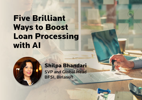 Five Brilliant Ways to Boost Loan Processing with AI
