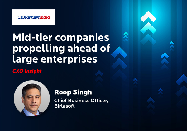 Mid-tier companies propelling ahead of large enterprises