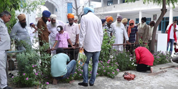 Plantation Drive - Awareness Drive in villages of Punjab