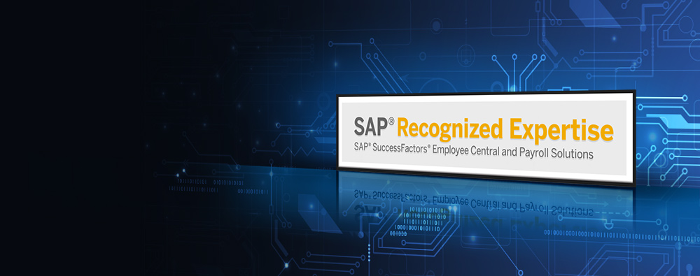 SAP Recognized Expertise in SAP SuccessFactors Recruiting and Onboarding Solutions