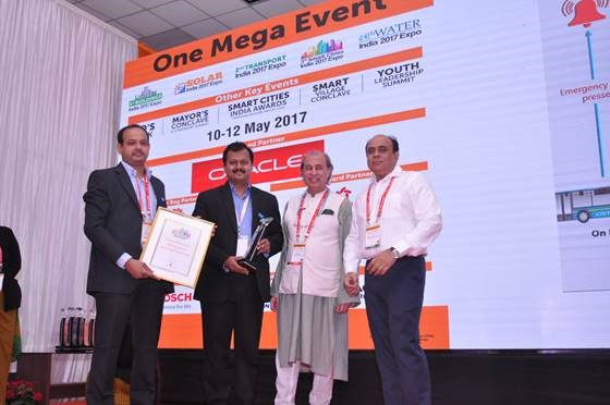 Smart Cities India award