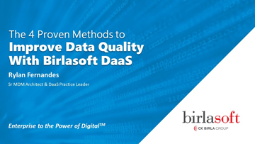 The 4 Proven Methods to Improve Data Quality with DaaS