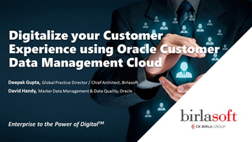 Digitalize your customer experience with Oracle CDM Cloud