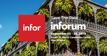 Birlasoft is proud to be an exhibitor at INFORUM 19