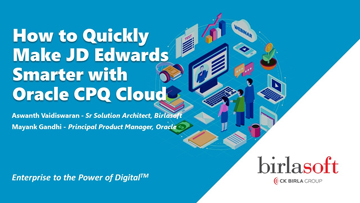 How to Quickly Make JD Edwards Smarter with Oracle CPQ Cloud