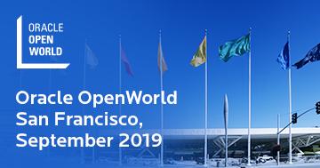 Oracle OpenWorld San Francisco, September 2019