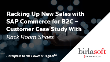 Racking Up New Sales with SAP Commerce for B2C - Customer Case Study With Rack Room Shoes