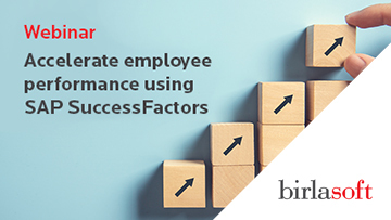 Accelerate employee performance using SAP SuccessFactors