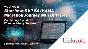 Start your SAP S/4HANA migration journey with Birlasoft